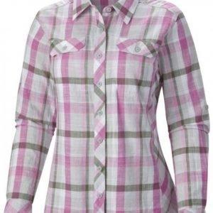 Columbia Camp Henry Long Sleeve Shirt Pink L