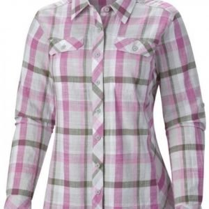 Columbia Camp Henry Long Sleeve Shirt Pink S