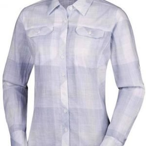 Columbia Camp Henry Long Sleeve Shirt Vaaleanharmaa L