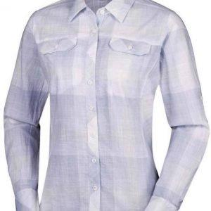 Columbia Camp Henry Long Sleeve Shirt Vaaleanharmaa M