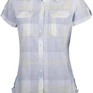 Columbia Camp Henry Short Sleeve Shirt Women Vaaleanharmaa L