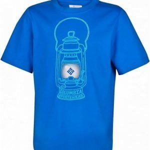 Columbia Camp Light B Tee Sininen L