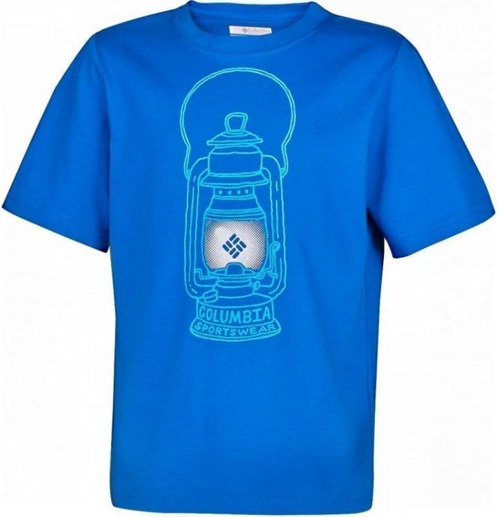 Columbia Camp Light B Tee Sininen XS