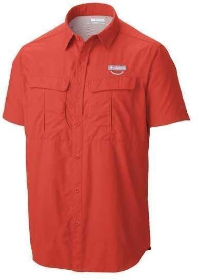 Columbia Cascades Explorer Short Sleeve Shirt Punainen M