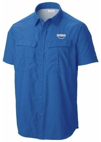 Columbia Cascades Explorer Short Sleeve Shirt Sininen S