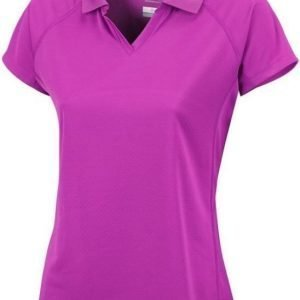 Columbia Cool News SS Polo Women Lila L