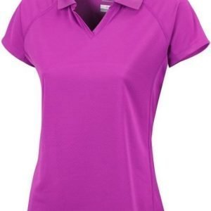Columbia Cool News SS Polo Women Lila S