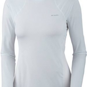 Columbia Coolest Cool LS Top Women Valkoinen L