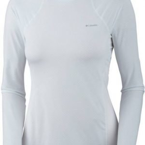 Columbia Coolest Cool LS Top Women Valkoinen S