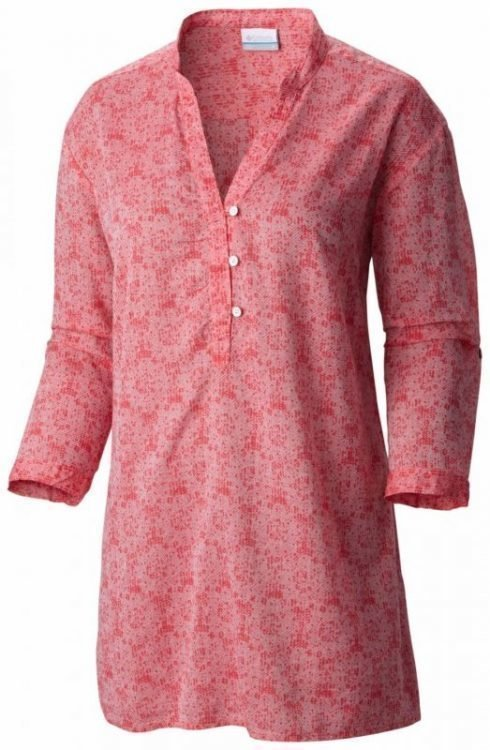 Columbia Early Tide Women's Tunic Coral XS