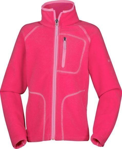 Columbia Fast Trek II Jr Jacket Vaaleanpunainen XL