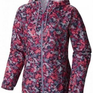 Columbia Flash Forward Printed Windbreaker Women Pink S