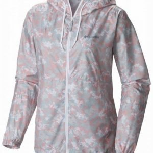 Columbia Flash Forward Printed Windbreaker Women Vaaleanpunainen S