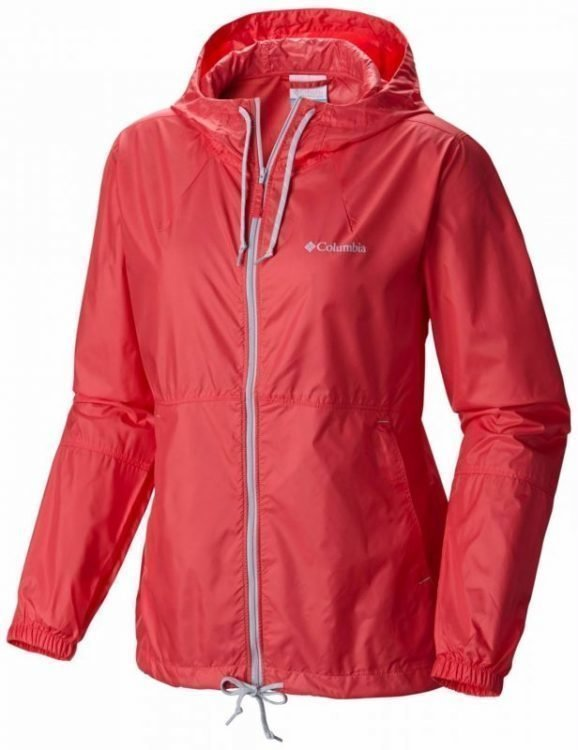 Columbia Flash Forward Windbreaker Women Punainen M