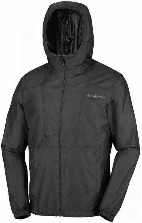 Columbia Flashback Windbreaker Musta M