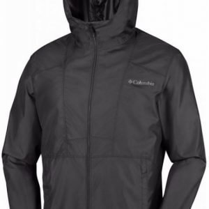 Columbia Flashback Windbreaker Musta XXL