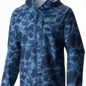 Columbia Flashback Windbreaker Print Tummansininen XL