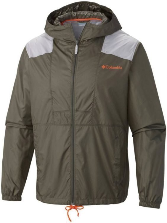 Columbia Flashback Windbreaker dark grey M
