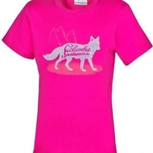 Columbia Foxtrotter Graphic Tee Pink XXS