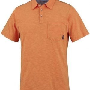 Columbia Lookout Point Polo oranssi XL