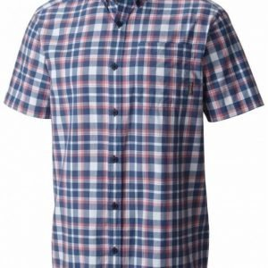 Columbia Rapid Rivers II Short Sleeve Shirt Sininen/punainen M