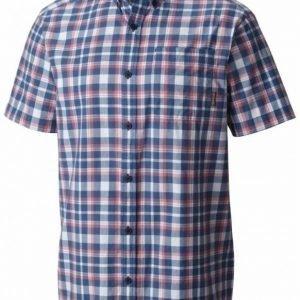 Columbia Rapid Rivers II Short Sleeve Shirt Sininen/punainen XL