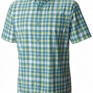 Columbia Rapid Rivers II Short Sleeve Shirt Vihreä L