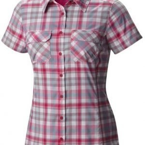 Columbia Saturday Trail III Plaid SS Pink M