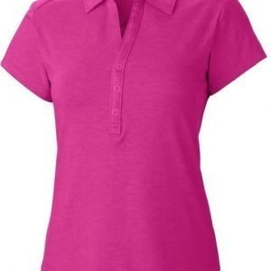 Columbia Shadow Time Polo Pink L