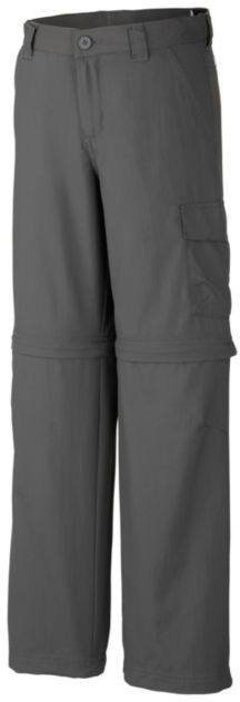 Columbia Silver Ridge III Jr Convertible Pant Dark grey XL