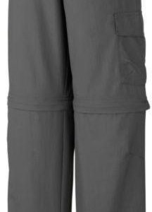 Columbia Silver Ridge III Jr Convertible Pant Dark grey XS