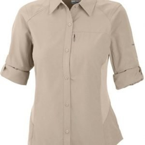 Columbia Silver Ridge LS Shirt Women Fossil S
