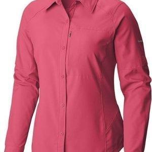 Columbia Silver Ridge LS Shirt Women Punainen L