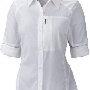Columbia Silver Ridge LS Shirt Women Valkoinen L