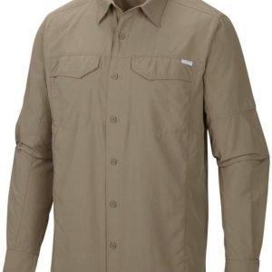 Columbia Silver Ridge Long Sleeve Shirt Fossil M