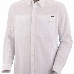 Columbia Silver Ridge Long Sleeve Shirt Valkoinen M
