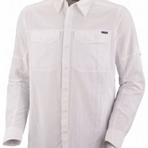 Columbia Silver Ridge Long Sleeve Shirt Valkoinen XXL