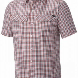 Columbia Silver Ridge Multi Plaid SS Punainen S