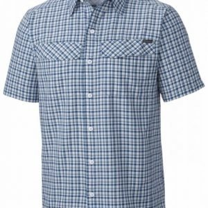 Columbia Silver Ridge Multi Plaid SS Tummansininen M