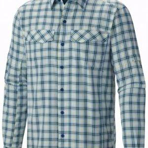 Columbia Silver Ridge Plaid Long Sleeve Shirt Marin L