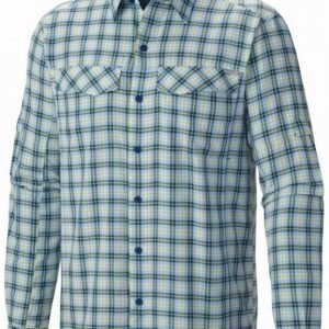 Columbia Silver Ridge Plaid Long Sleeve Shirt Marin XXL
