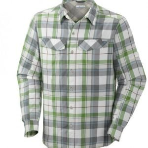 Columbia Silver Ridge Plaid Long Sleeve Shirt Vihreä XXL