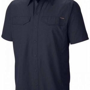 Columbia Silver Ridge SS Shirt Musta XL