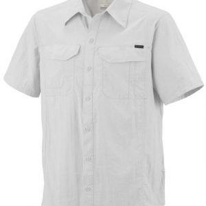 Columbia Silver Ridge SS Shirt Valkoinen S