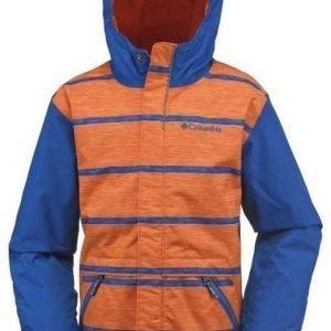 Columbia Slopestar Jr Jacket Sininen/oranssi S