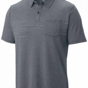 Columbia Trail Shaker Mens Polo Ash XXL