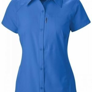Columbia Women's Silver Ridge S/S Shirt Tummansininen M