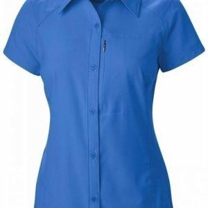 Columbia Women's Silver Ridge S/S Shirt Tummansininen S
