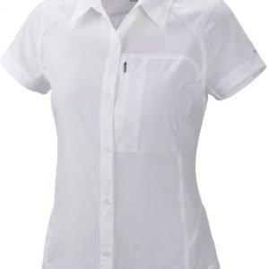 Columbia Women's Silver Ridge S/S Shirt Valkoinen S