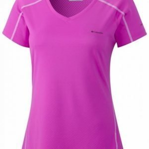 Columbia Zero Rules SS Women Fuksia XL